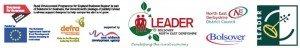 BNED funding logos