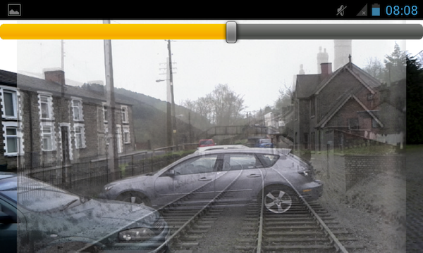 Upper Sirhowy app - match old photos with today's scene