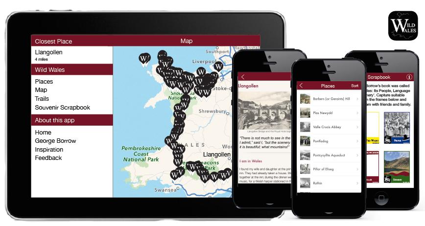Wild Wales app screenshots