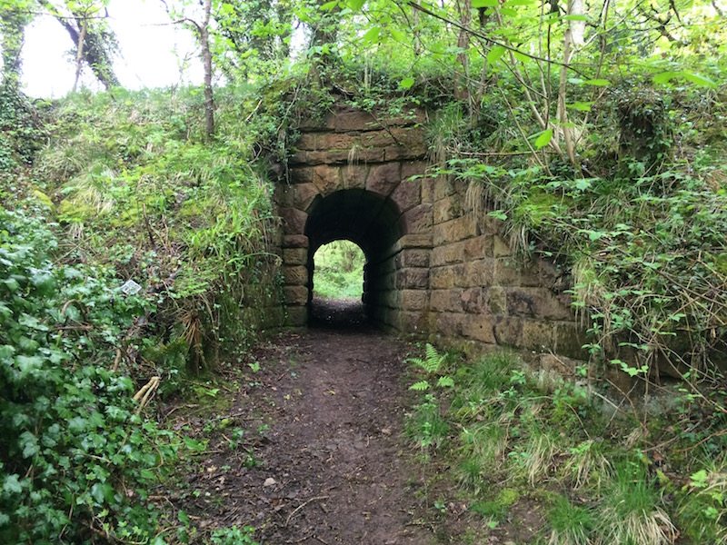 Horse Tunnel for 1785 wagonway